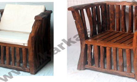 Code : KRA_CHR 008 <br>  Size   : 80 x 65 x 70 cm