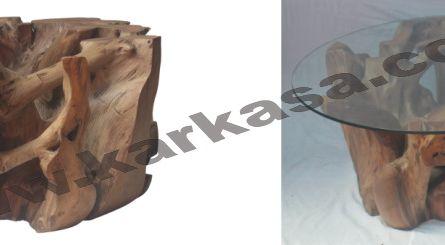 Code : KRA_TBL_CF 011 <br> Size   : 90 x 90 x 45 cm
